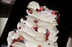 Ruffle cake ai frutti di bosco