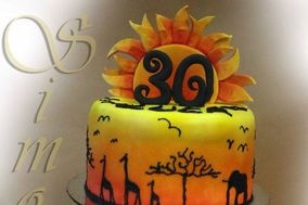 Africa wedding cake