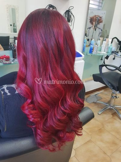 Una sposa in rouge