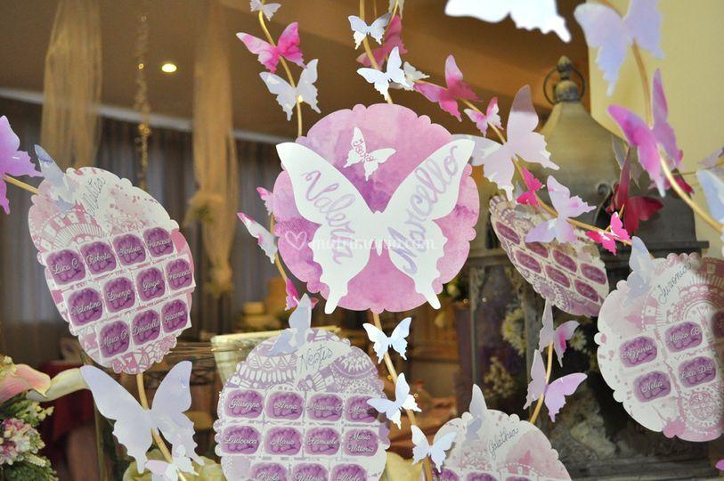 Matrimonio Tema Farfalla : Tableau matrimonio tema farfalle nv regardsdefemmes