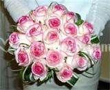 Bouquet rose sfumate