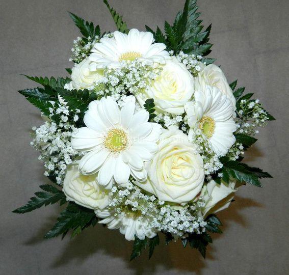 Bouquet rose e gerbere