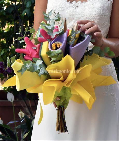 Bouquet molto particolare