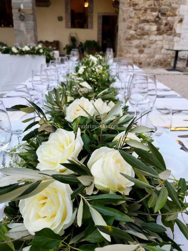 Gardenia Bouquet Sposa.Dettagli Centrotavola Di Gardenia Foto 1