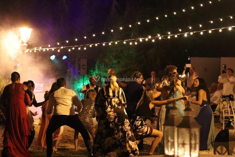 Dance Moment in Villa Nobel