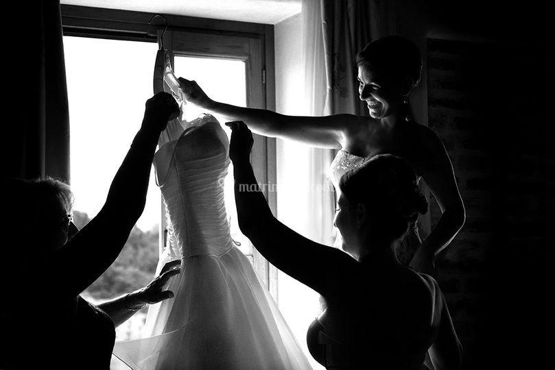 Wedding cuneo