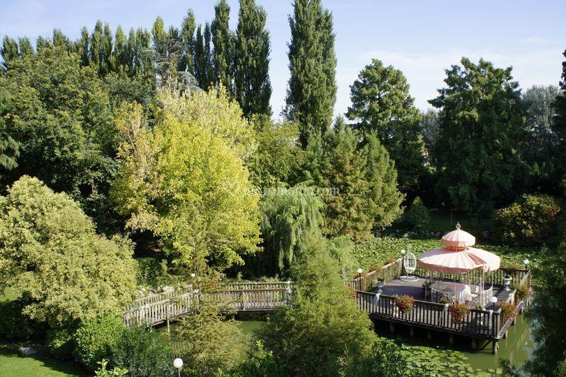 Parco e laghetto