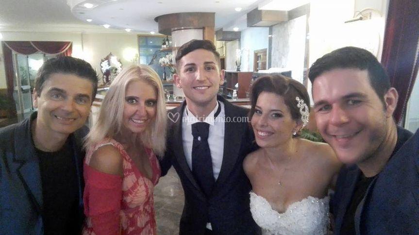 Gli sposi con i cosatinta