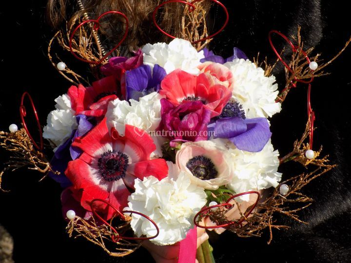 Bouquet in struttura
