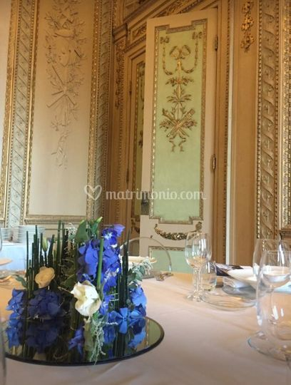 Allestimento villa reale Monza