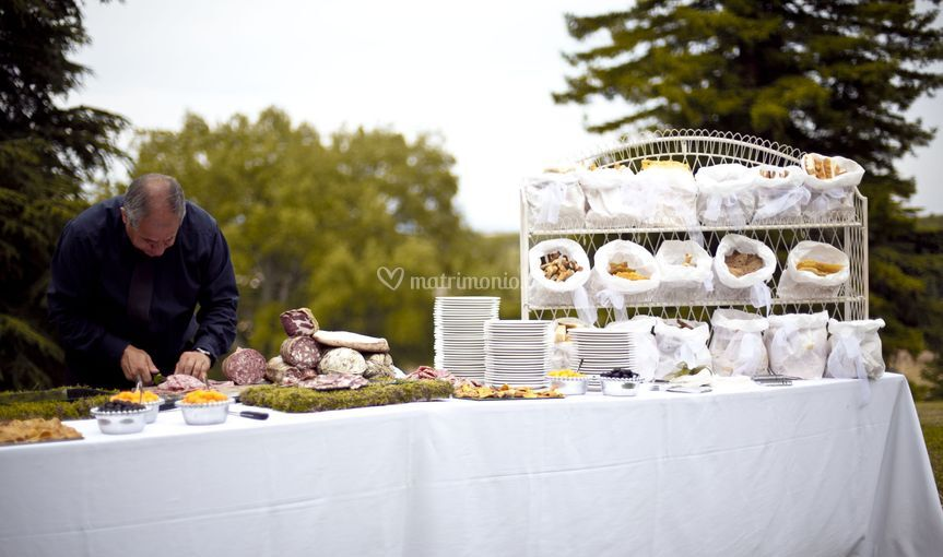 Welcome buffet