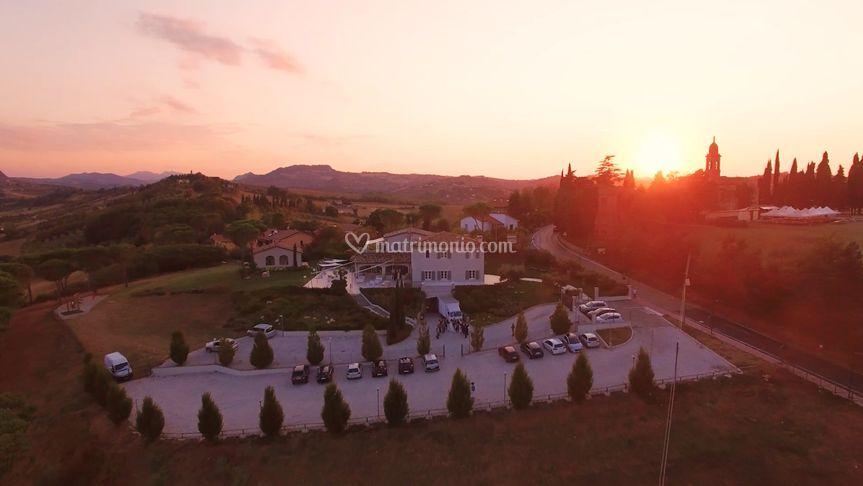 Villa Malatesta - Tramonto