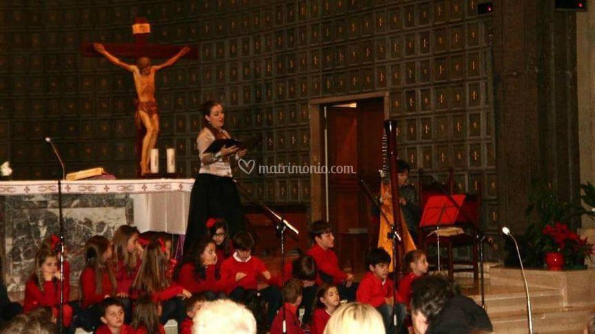 Evento in chiesa