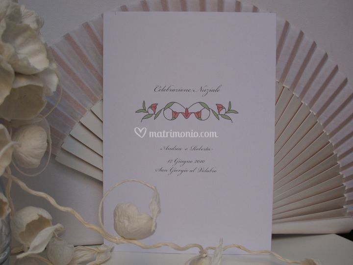 Libretto Matrimonio Romano : Yes wedding planner