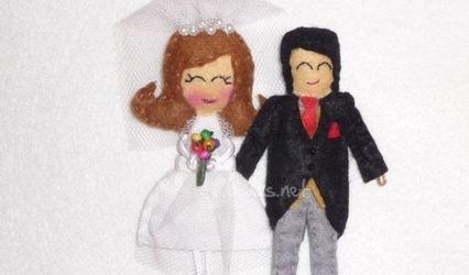 Spille originali per invitate di nozze
