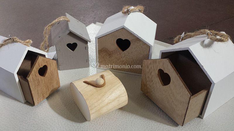 Bomboniere Casetta legno