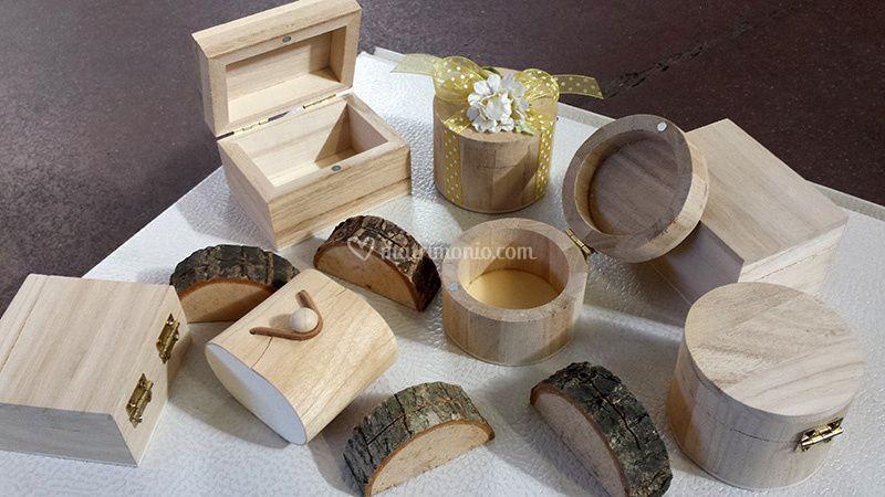 Scatoline in legno