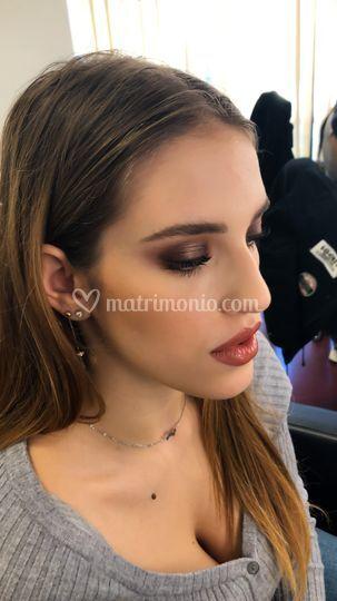 Make up sposa boho