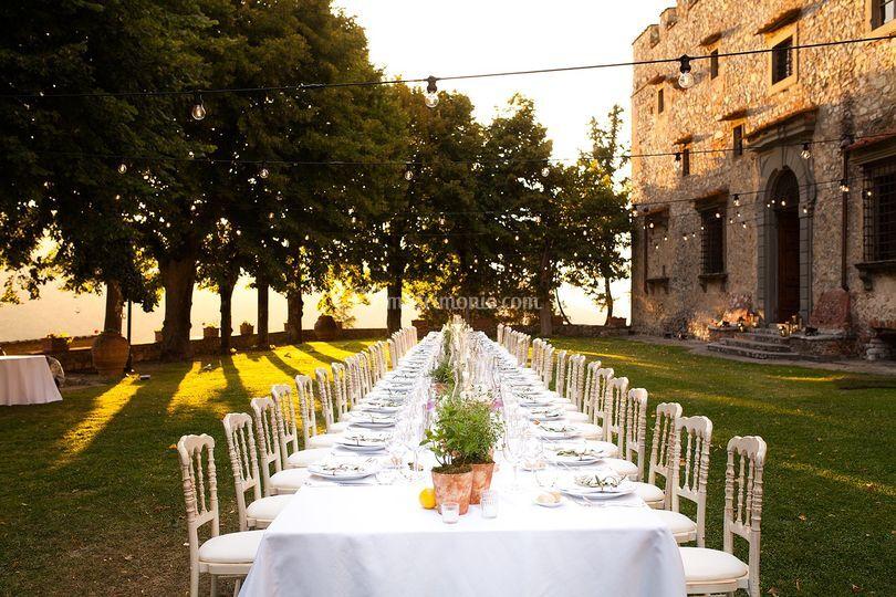 Castello di meleto wedding