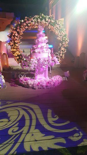 Flowers Cake
