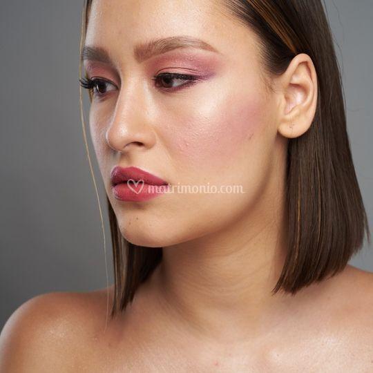 Make up Romantic Rose