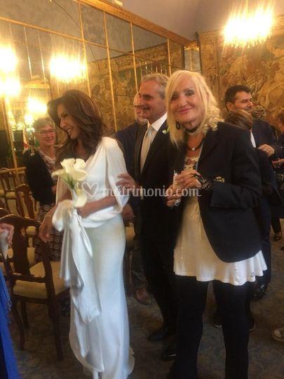 Con la bella Emanuela Folliero