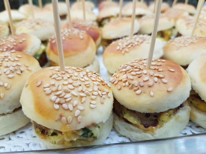 Mini hamburger di vitello
