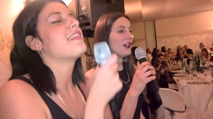 Il karaoke delle amiche!