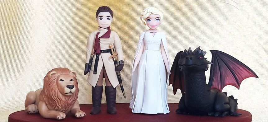 Cake Topper Game of Thrones