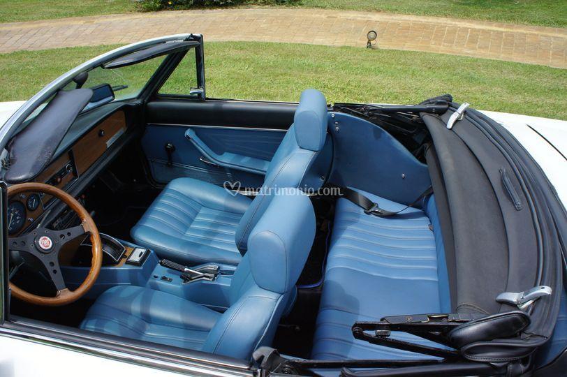 Fiat 124 Spider sedili
