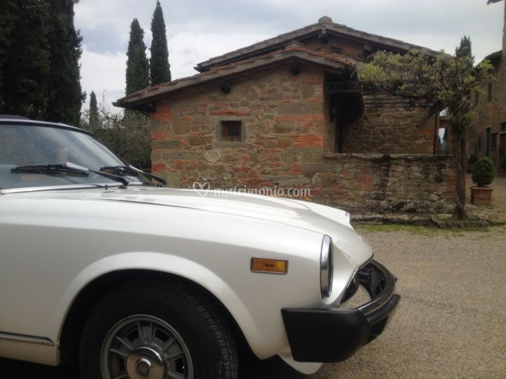 Fiat 124 Spider a Meleto
