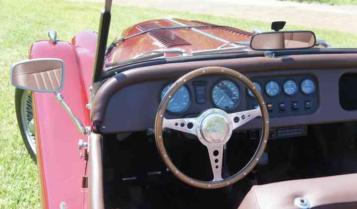 Morgan 4/4 4-Seater cruscotto
