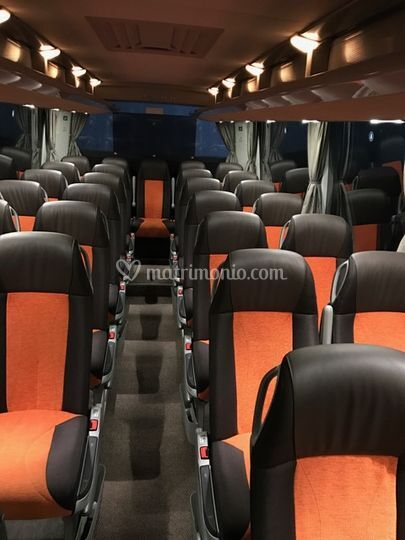 Interno autobus 50 pax