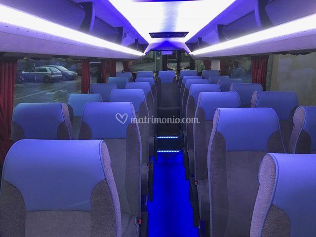 Interno autobus 30 pax
