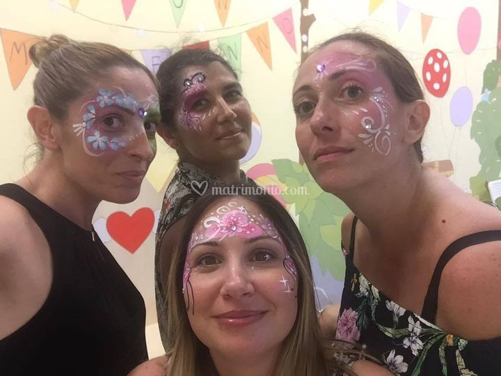 Facepainting mamme
