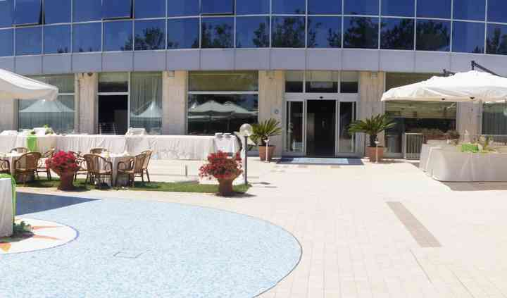 Buffet piscina