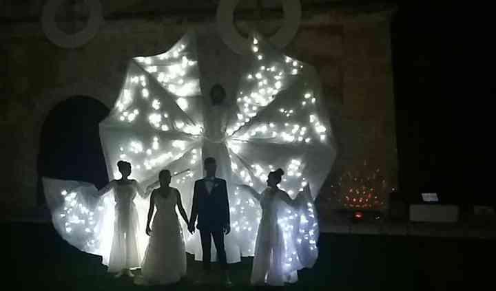 Farfalle Luminose per Sposi