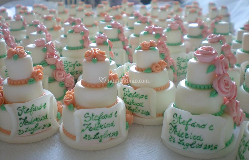 Minicake segnaposto