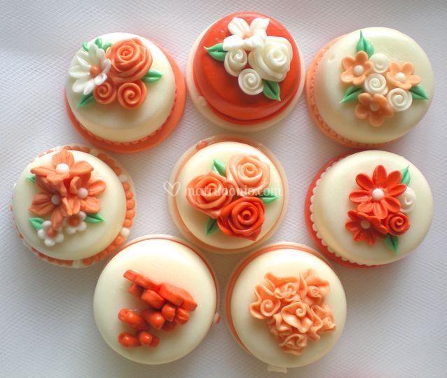 Minicake arancio