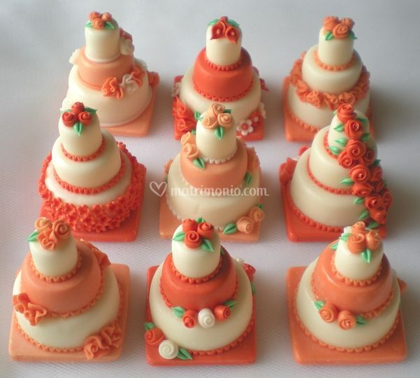 Minicake base quadrata