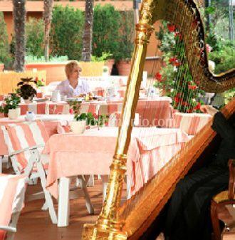 Sala ristorante  per banchetti