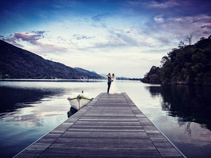 Matrimonio lago