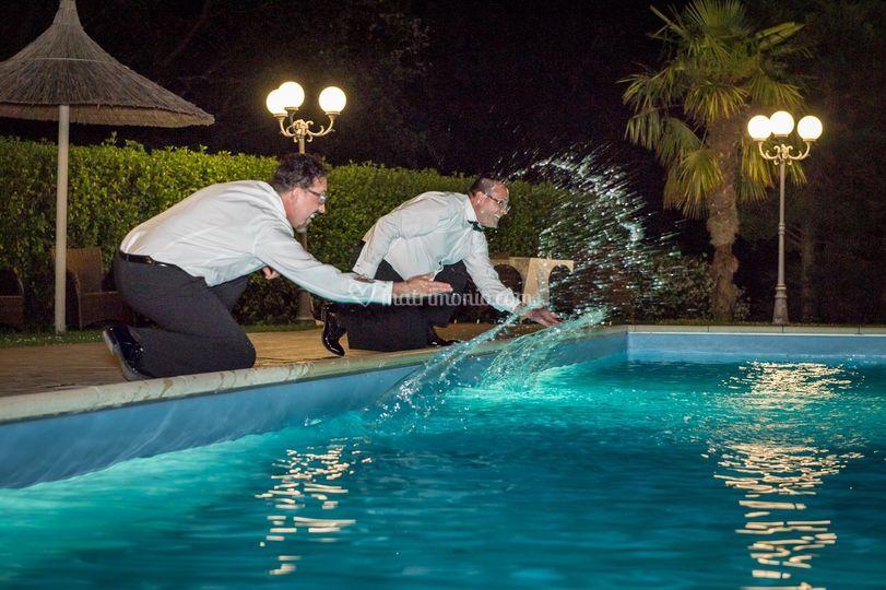 Momenti in piscina