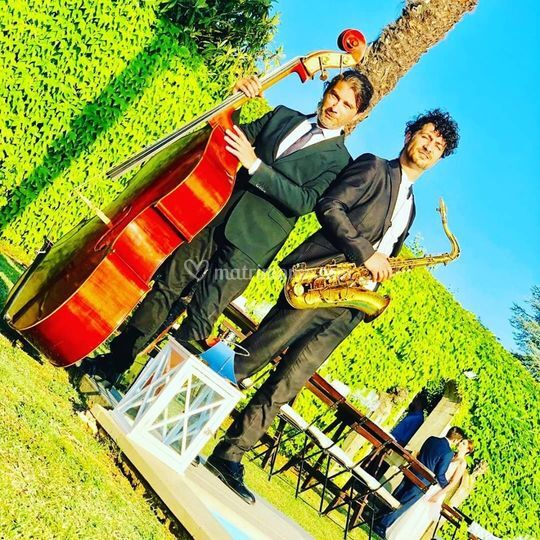 Duo Sax e Contrabbasso Firenze