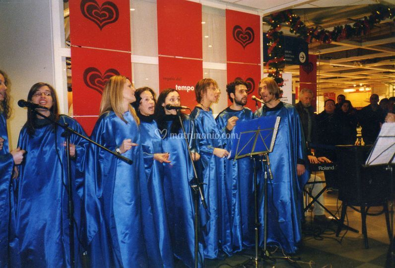Coro gospel All Sisters @ Ikea