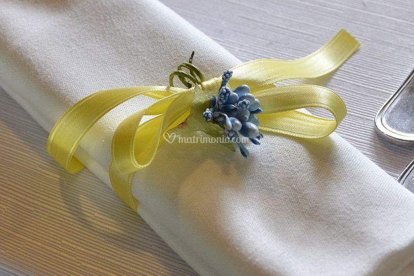 Dettaglio giallo e blu