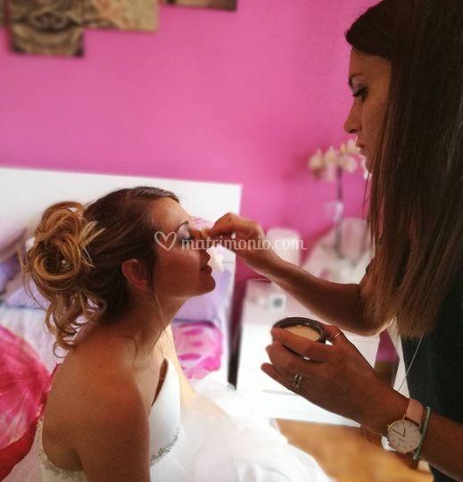 Matisse i Parrucchieri - makeup airbrush