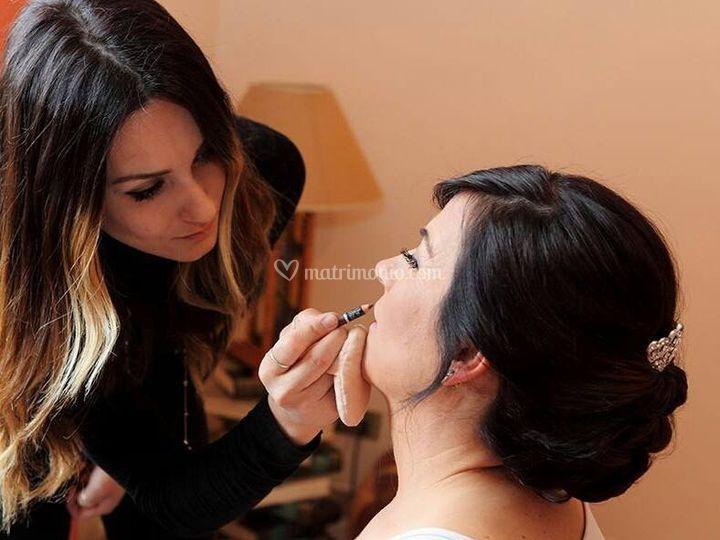 Matisse i Parrucchieri - makeup airbrush13