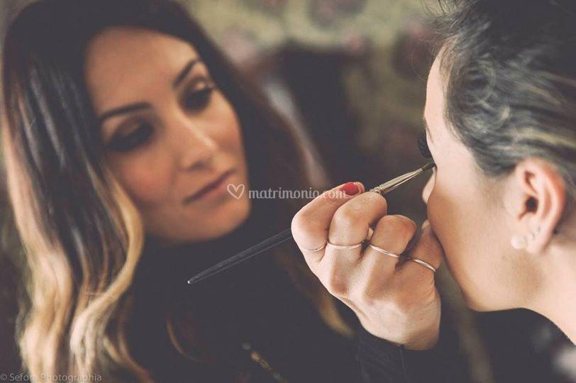 Matisse i Parrucchieri - makeup airbrush5