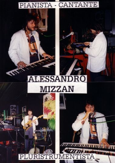 Alex Mizzan - pluristrumentista